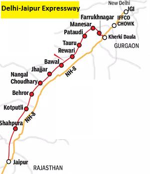 दिल्ली-जयपुर-एक्सप्रेसवे